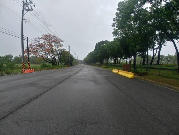 因雨勢減緩,水位下降,本區與關廟區的高苓橋於今(5/23)6點30分解除封橋狀態。
