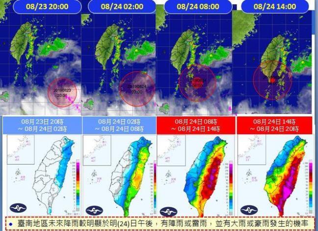 颱風顧名思義,除了嚴防豪雨,七級風🌪的破壞也很大喔4