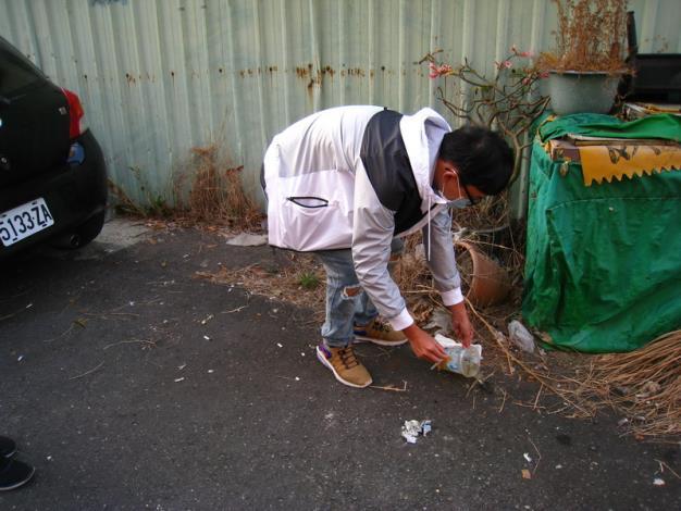 辦理11月份環境清潔日暨區里病媒蚊密調評比活動8