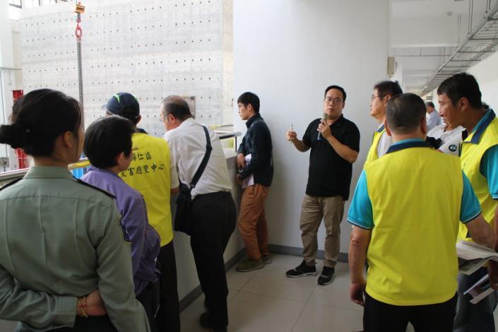 108年下半年度災害防救會報-在國家地震工程研究中心(台南實驗室)8