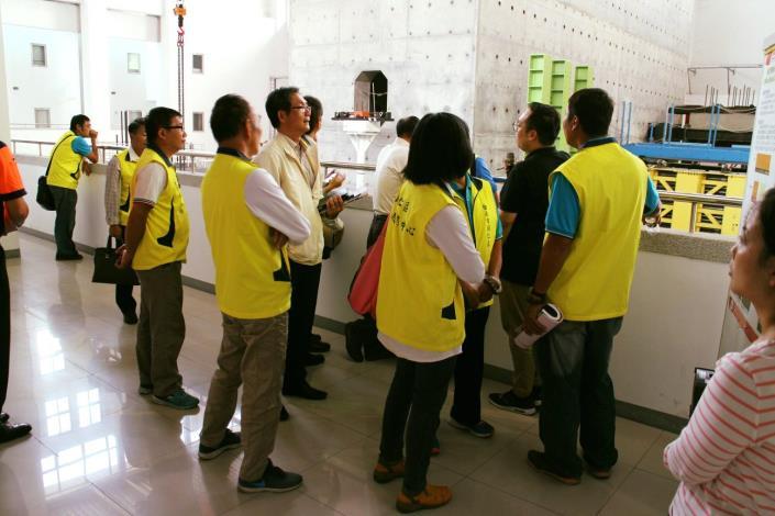 108年下半年度災害防救會報-在國家地震工程研究中心(台南實驗室)5