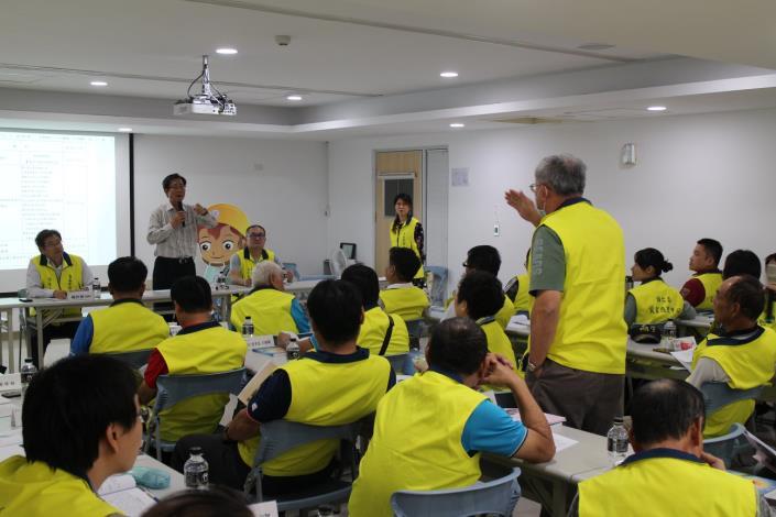 108年下半年度災害防救會報-在國家地震工程研究中心(台南實驗室)6