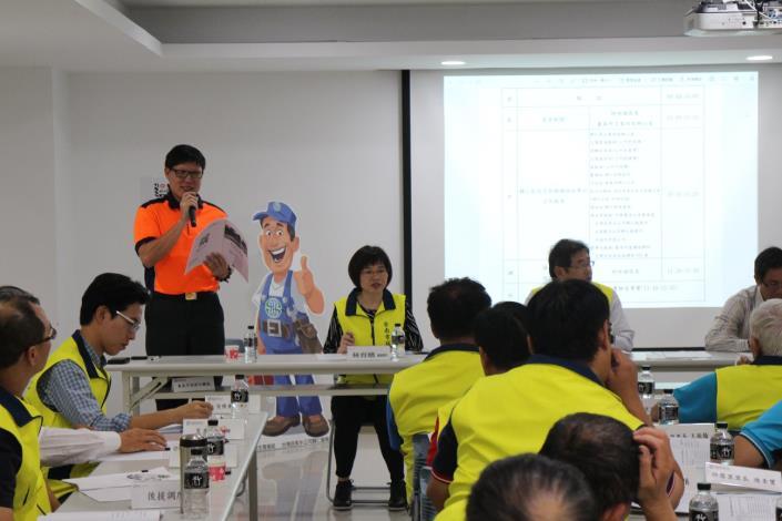 108年下半年度災害防救會報-在國家地震工程研究中心(台南實驗室)7