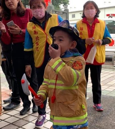 小小消防員體驗