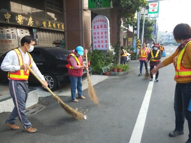 義工們街道清理3