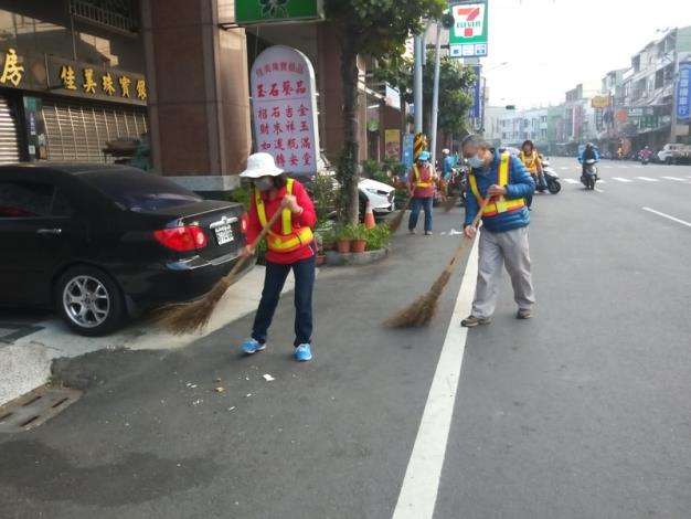 義工們街道清理2