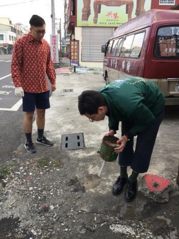清除積水容器3