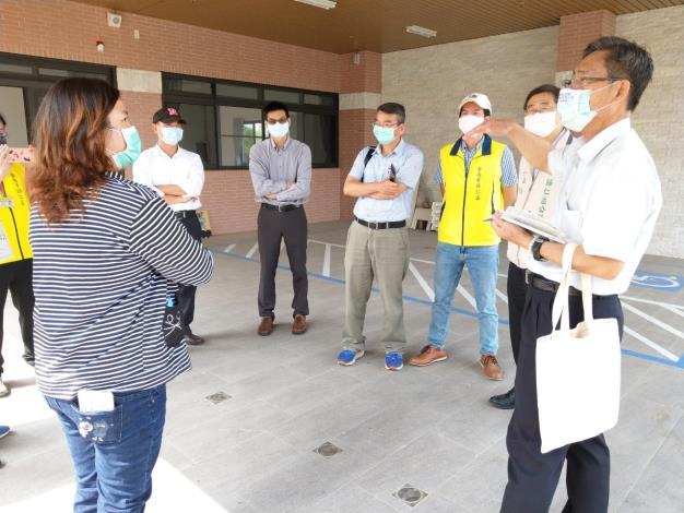 市府消防局等單位前往本區五甲教養院了解新建院區設立情形