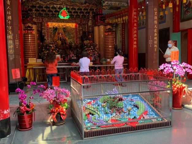 避免人群聚集廟宇內可能產生的感染風險,讓寺廟、神明更能保境護民3