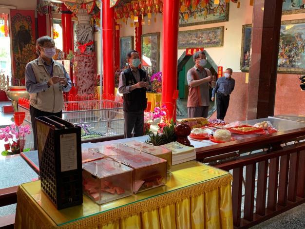 避免人群聚集廟宇內可能產生的感染風險,讓寺廟、神明更能保境護民2