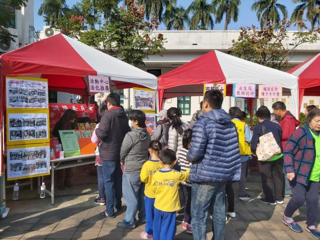 美學館過新年活動舉辦本區活動中心活化宣導01