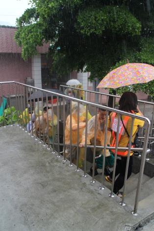 遇水災時的最佳垂直疏散撤離庇護所演練