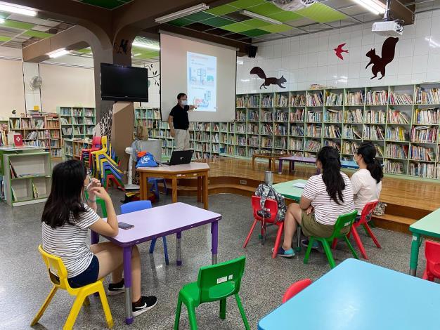 本區圖書館新住民文化認識系列結合「921國家防災月」辦理防災宣導
