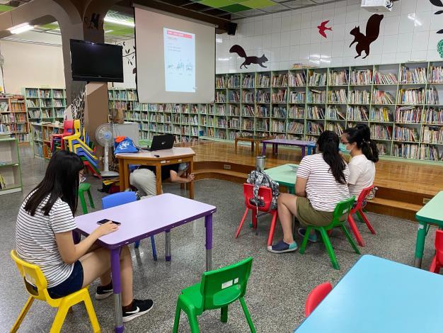 本區圖書館新住民文化認識系列結合「921國家防災月」辦理防災宣導2
