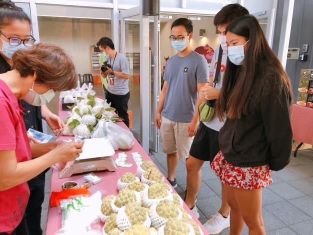 110年歸仁釋迦及七甲花卉展售會活動照片12