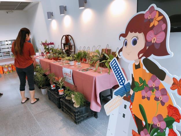 110年歸仁釋迦及七甲花卉展售會活動照片11
