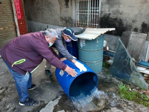 除居家環境室內外積水容器2