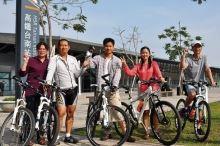 THSR Tainan Station Bikeway
