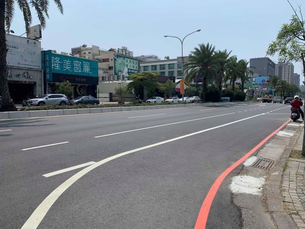 永華路-中華西路-路口轉角