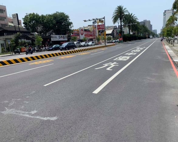 永華路台南市議會前道路
