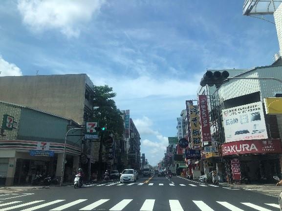 文賢路超商路口