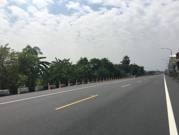 永康區自強路環工路至王行路直線道路
