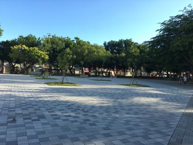 水萍塭公園整建工程-區內平整的活動空間