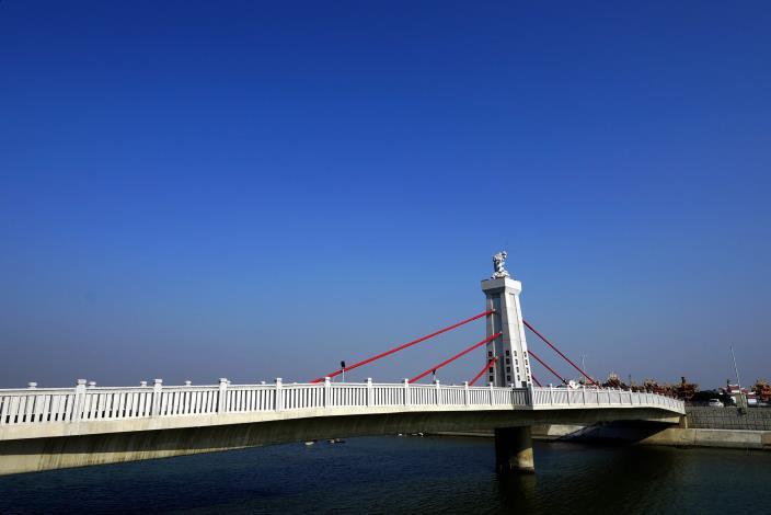 跨鹿耳門溪橋樑工程-北面側拍