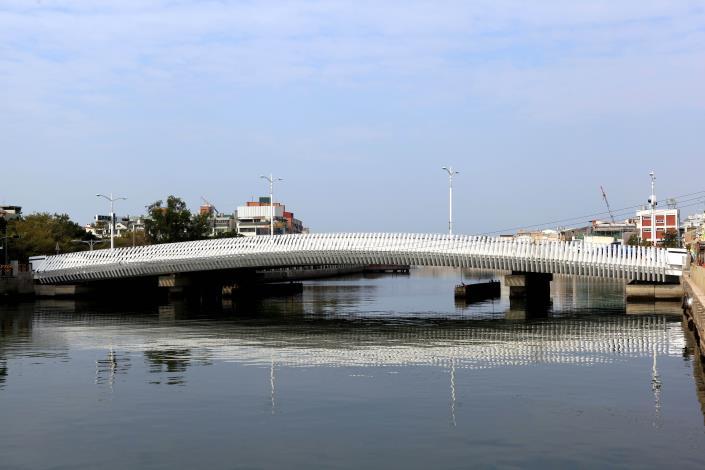 承天橋改建工程-白天遠拍全
