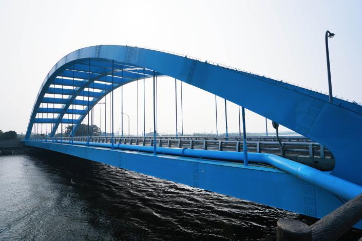 華宗橋-鋼構橋面側拍