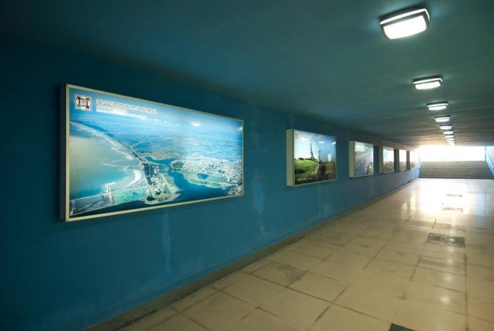 安億橋下河底景觀步道-運河博物館地下走道一偶