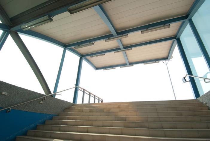 安億橋下河底景觀步道-運河博物館地下走道出口