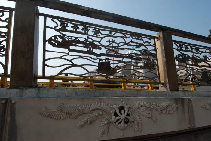 安億橋護牆古色古香