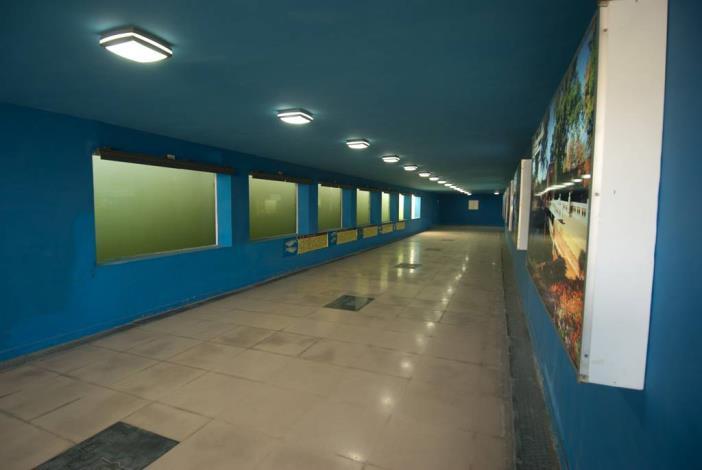 安億橋下河底景觀步道-運河博物館地下走道