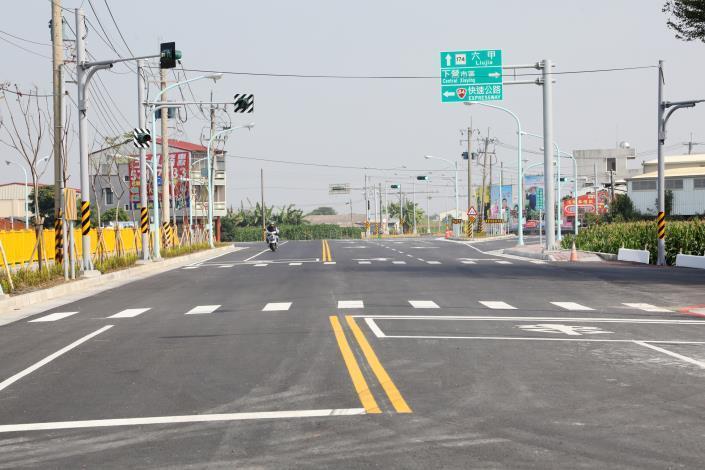下營南外環道路新闢工程完工1