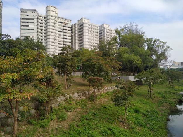 永康區新闢祥合公園設置共融式遊戲場一景