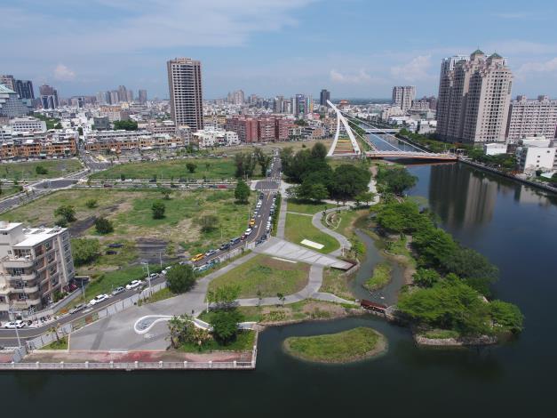 運河星鑽亮點之一 大涼生態公園今開放啟用