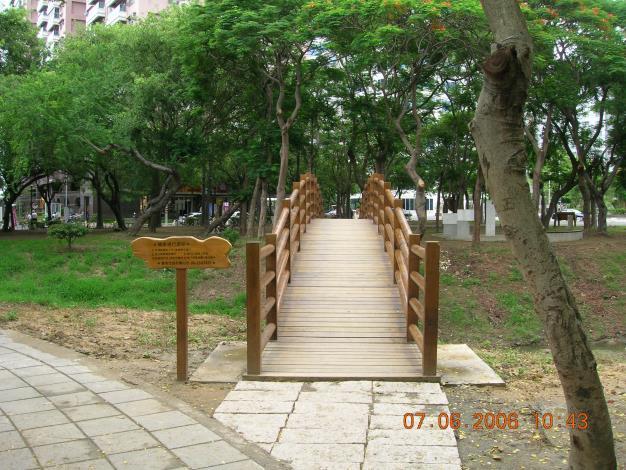 抬高木棧道-木橋入口