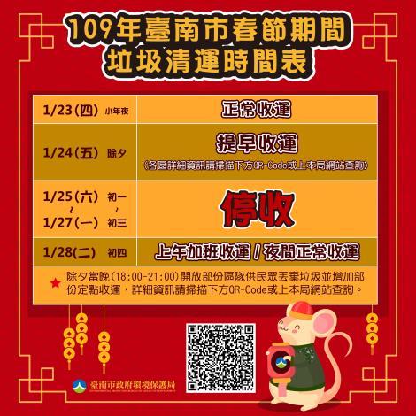 109年臺南市春節收運時間表-圖卡3-01