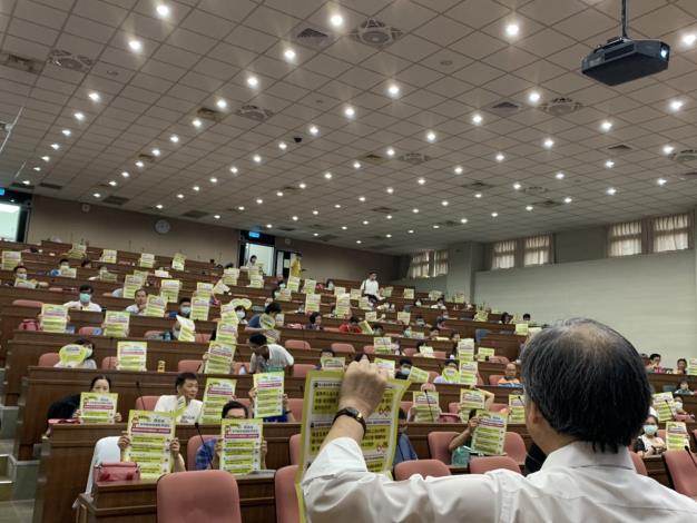 03里幹事研習-顏局長振標宣導動物保護教育園區