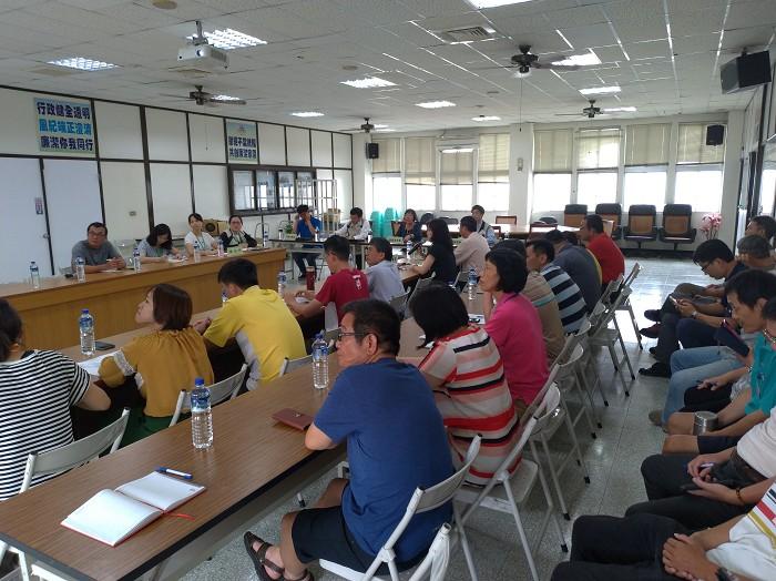 登革熱防治區級指揮中心會議