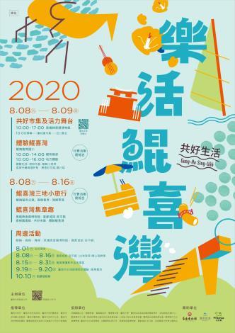 2020樂活鯤喜灣海報