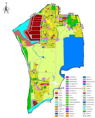南區細部計畫範圍示意圖