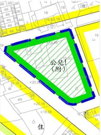 「變更山上都市計畫(第四次通盤檢討)案」市地重劃示意圖2