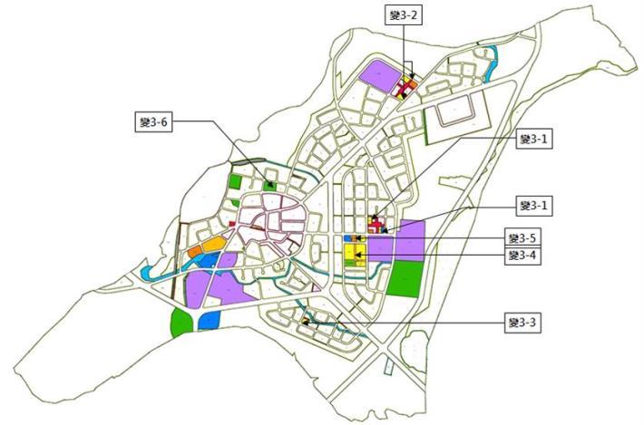 變更玉井都市計畫(公共設施用地專案通盤檢討)案市地重劃示意圖