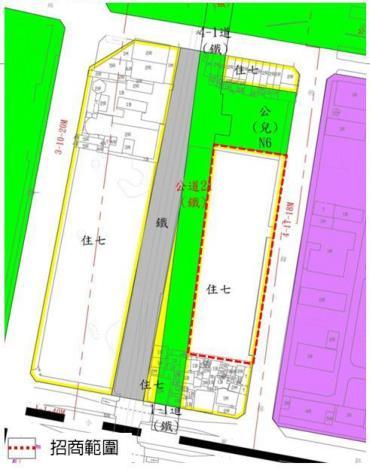 圖3 北區中興新城招商範圍區位示意圖