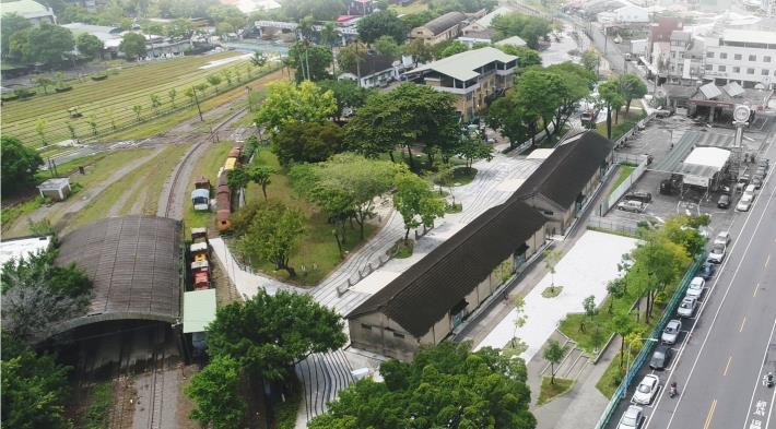 圖6-新營鐵道地景公園重啟新營綠色大門,友善鄰里共享使用
