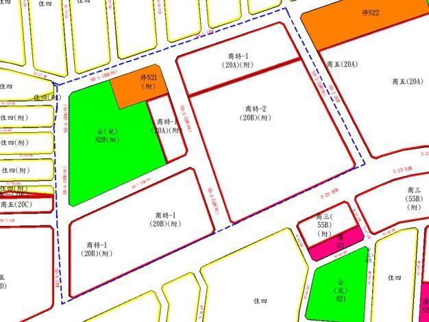 圖2 商20變更後都市計畫示意圖-A3