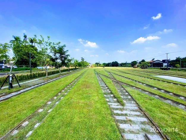 照片七、新營鐵道地景公園二期工程完工