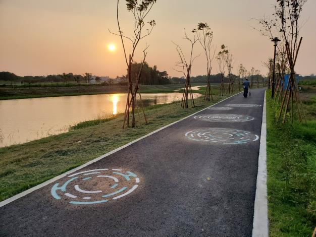 照片六、月津港公18-3及公18-5水岸步道工程